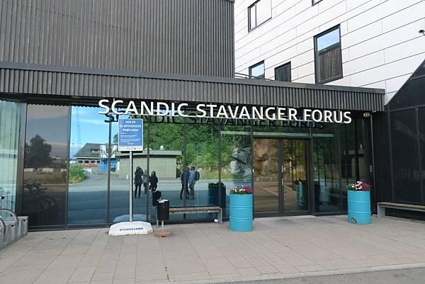SCANDIC STAVANGER FORUS門口 (1).JPG
