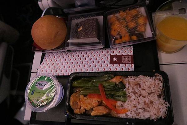 飛往杜哈飛機餐 (1).JPG