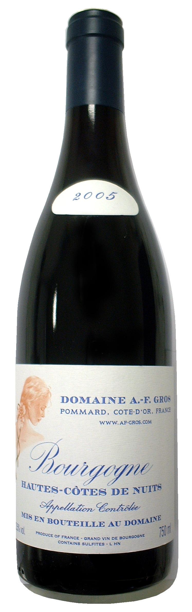 2005 Bourgogne Hautes Cotes de Nuits_Domaine AF Gros.jpg