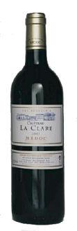 Ch. La Clare 2003 _Medoc