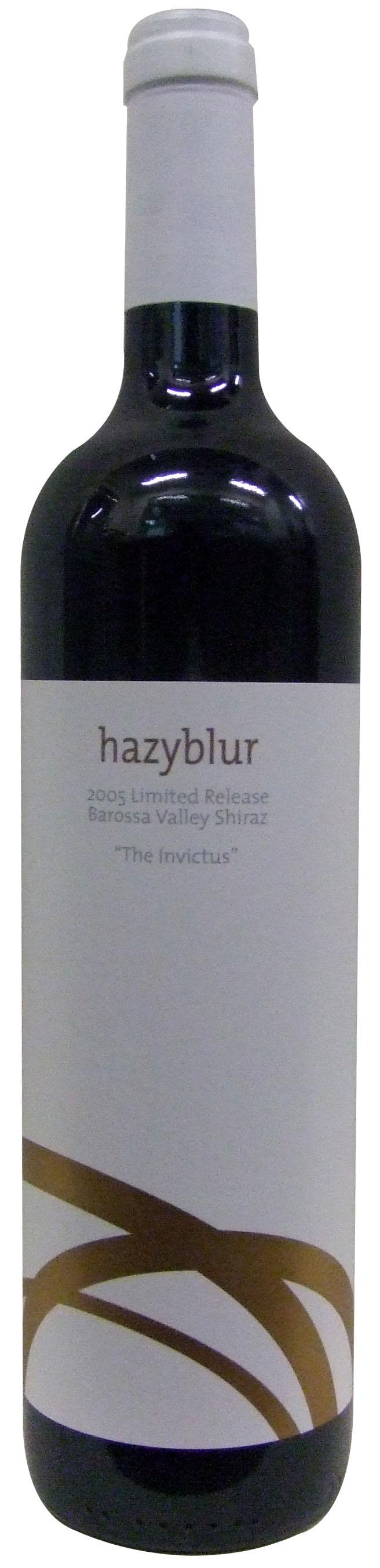 Hazyblur The Invictus barossa valley shiraze 2005.jpg