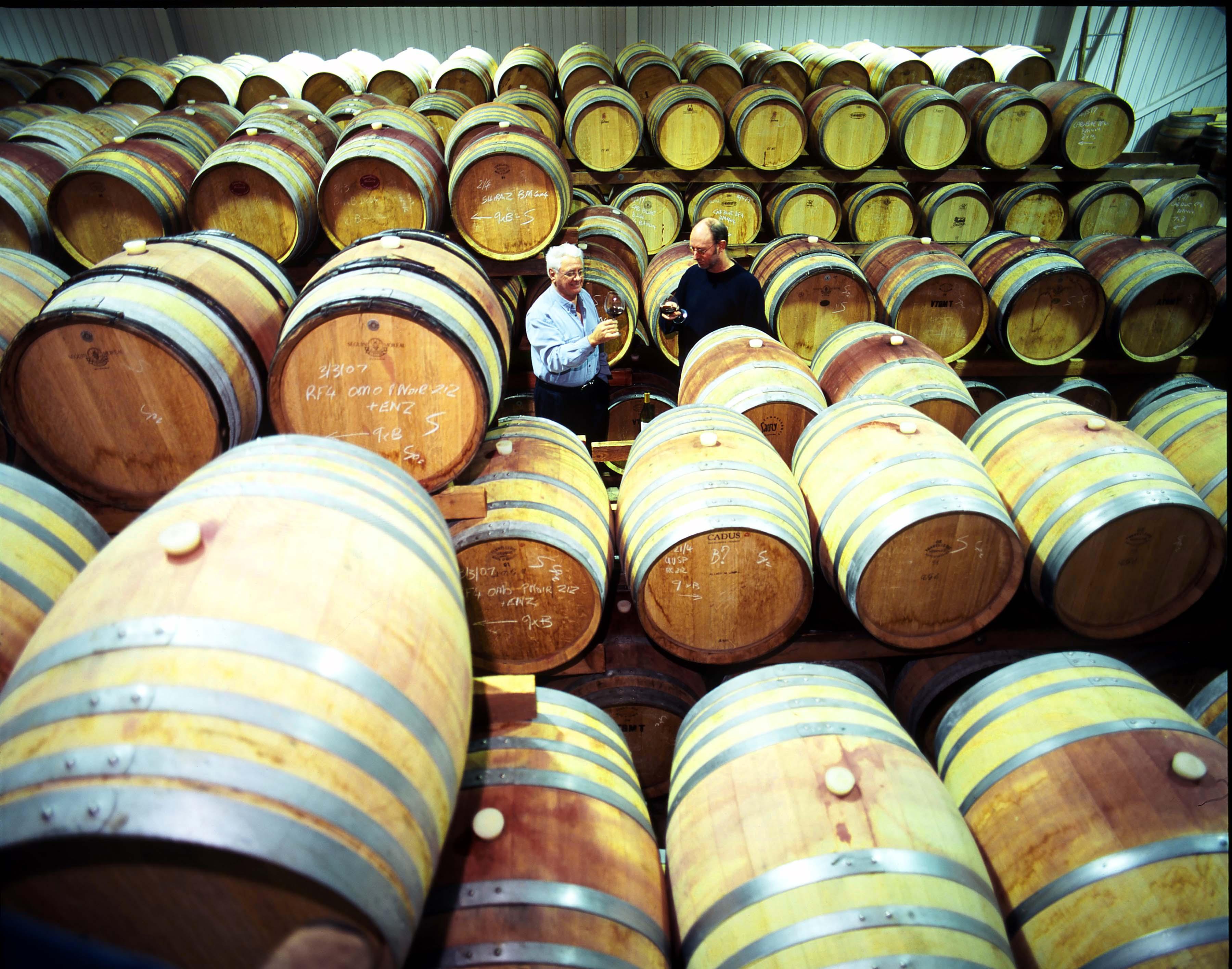 John & Pat - Salitage Barrel Store Room.jpg