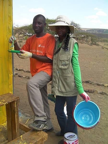 肯亞學生參與志工服務