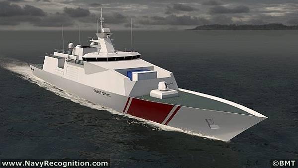 BMT Venator110 Patrol Ship DSEi 2013 (1).jpg