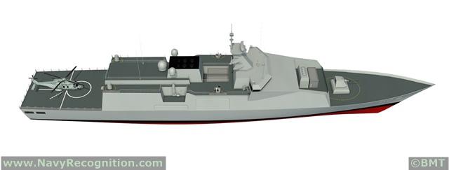BMT Venator110 Patrol Ship DSEi 2013 (2).jpg