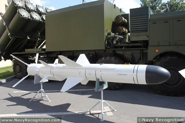 Uran E KH 35 Anti-ship missile complex Russia.JPG