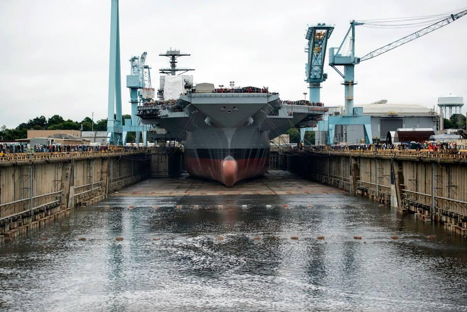 20131011-USS Gerald R. Ford(CVN-78) (1)