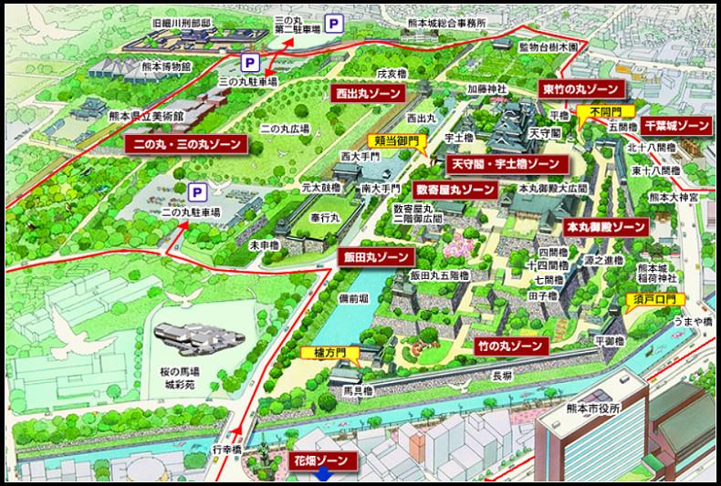 18_85_熊本城地圖