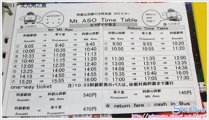 20_11_阿蘇山西站時刻表
