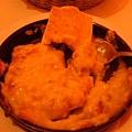 我的前菜~焗烤蘑菇+方塊麵包