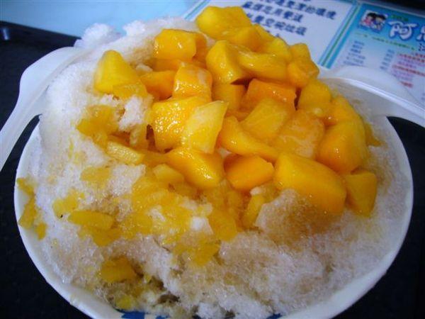 芒果鳳梨牛奶冰 100元~