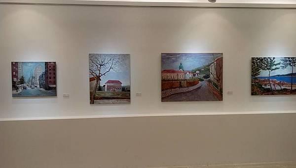 2017美術活動《行趾四方》油畫創作展帶你進入油畫世界