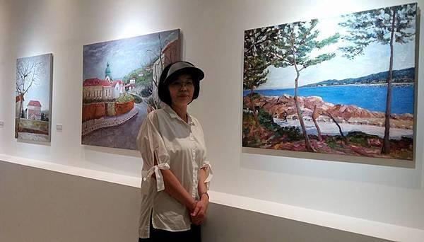 作家王慧穆將在2017美術活動油畫創作展了解藝術精神!