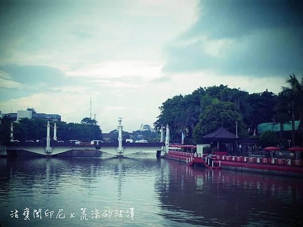 過了Porong河就進入市區