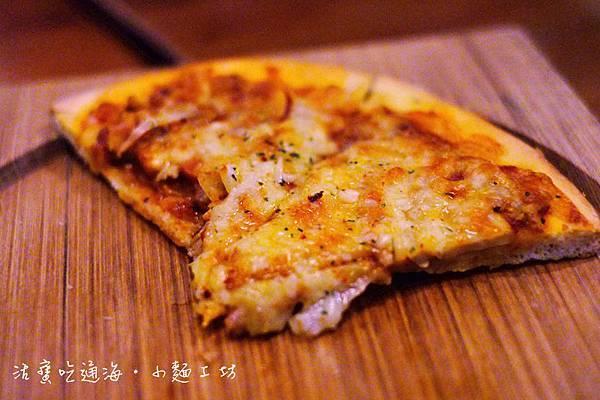 美式辣味臘腸披薩