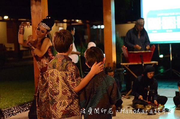 傳統印尼音樂與舞蹈表演