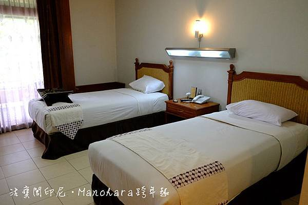 Hotel Manohara 雙人房