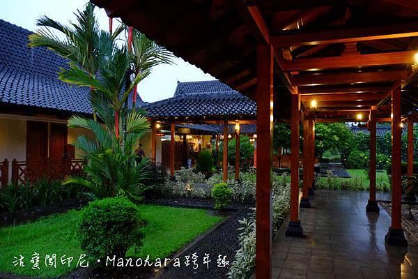 悠閒寧靜的Manohara飯店