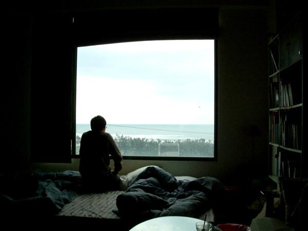 落地窗可直接看到海