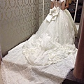 結婚第一套白紗試穿
