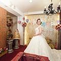 結婚第一套婚紗進場造型