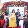 結婚第二套禮服進場