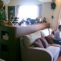 沙發背牆櫃(客廳面)