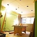 客廳天花板施工