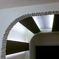 造型天花板一角