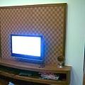 主臥電視牆及電視櫃