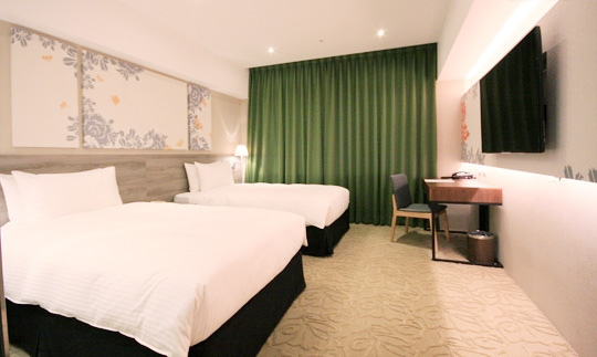 愛麗絲大飯店-漫步經典房-兩單床