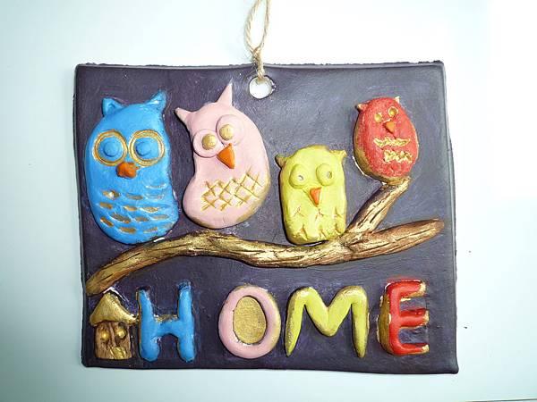 Owl Plaque2