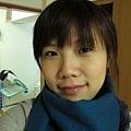 阿豬就一直慫恿買的藍綠色圍巾,很保暖喔!