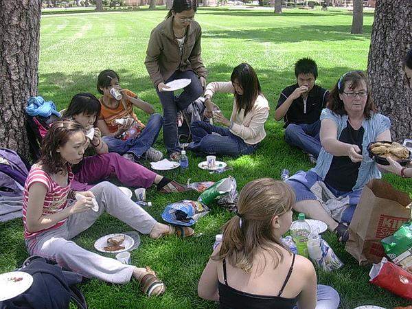 picnic in ESL