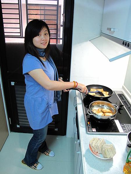 老妹煎蘿蔔糕@台中家