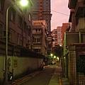 黃昏仁愛路的靜巷