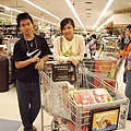 超級市場閒逛中