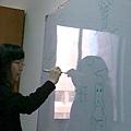 雅芬學姐很愛畫畫