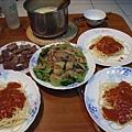 三人的晚餐