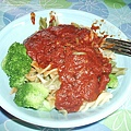 pasta-first dinner in CO