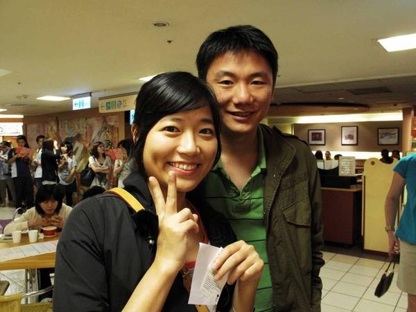 老大& her BF