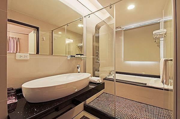 商務雙人浴室