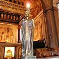 114米開朗基羅製作摩西像的鎖鏈聖彼得教堂.JPG