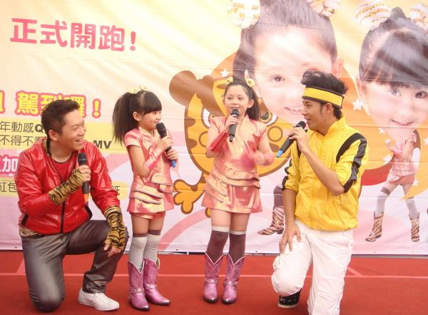 (左起)阿亮、大小姐、香蕉哥哥首次戶外活動同台,超吸睛2.JPG