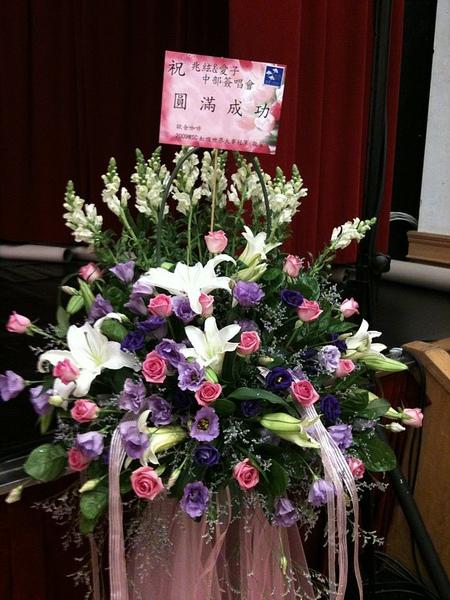 謝謝在地好友送花來.jpg
