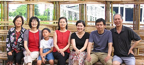 竹之屋內合照