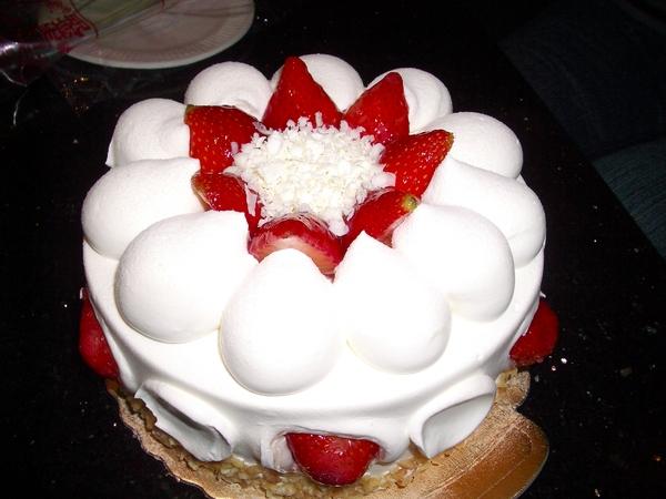 看起來很可口的蛋糕