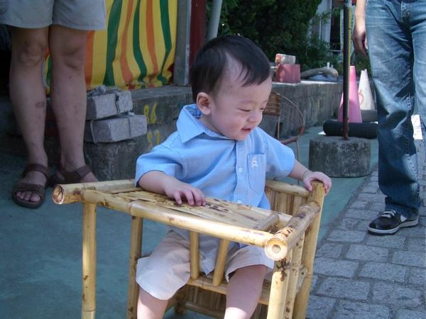 看到一張很可愛的椅子