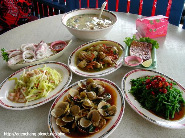 萬三海鮮-豐盛的午餐