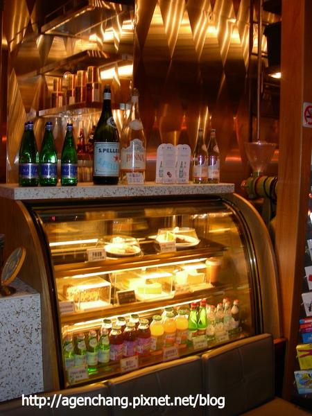 甜點飲料櫃